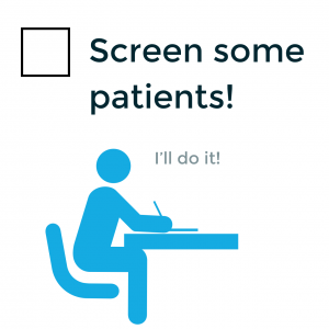 screen some patients